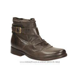 Новые кожаные ботинки Clarks 41 размера Великобритания