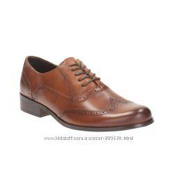 Новые кожаные туфли Clarks 41 размера Великобритания