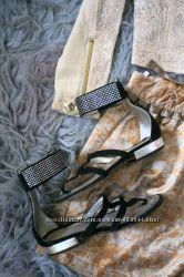SIMONETTA I Pinco Pallino ARMANI Красивая кожаная обувь в стразах 29-31р