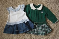 MAYORAL ZARA BENETTON BRUMS Красивые брендовые платьица на малышку.