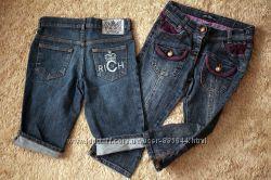 BLUMARINE Richmond DESIGUAL Zara Красивые брендовые джинсы на девочку 10-12
