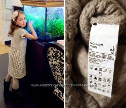 SISLEY BENETTON MAYORAL ZARA Красивые и теплые платья на осень на 8-10 лет