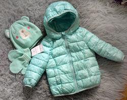 Benetton Carters Gaialuna Zara красивые куртки и пуховики на малышку