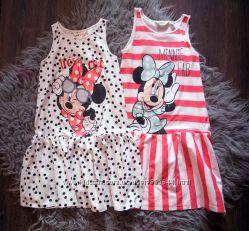 Полоска воланы единороги и Mickey. Распродаем дочкины летние платья 8-10лет