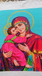 Ікона ручна робота вишита хрестиком