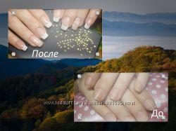 Покрытие ногтей  shellak, маникюр, парафинотерапия рук на Позняках