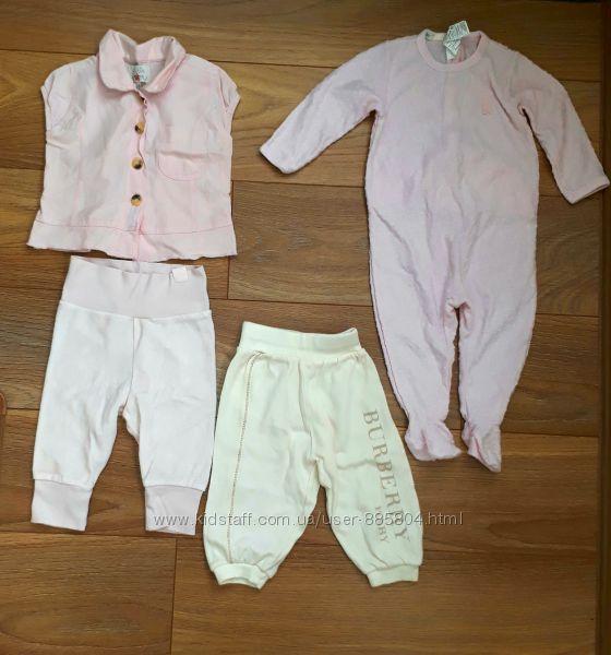 Пакет брендовой одежды для девочки от 3-9мес.