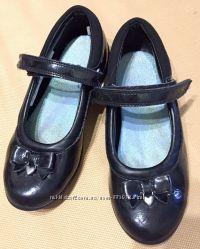 Clarks туфли кожаные размер 30