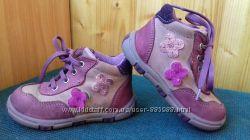 Красивейшие демисезонные кожаные ботиночки
