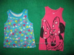 фирменные майки и футболки для девочки 1-3 года в отличном состоянии ч 1