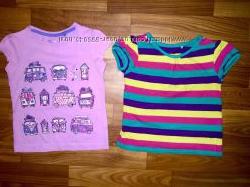 фирменные майки и футболки для девочки 1-3 года в отличном состоянии ч 2