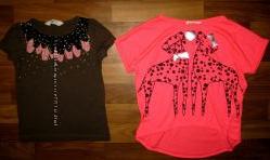 фирменные футболки, туники и майки на 3-6 лет часть 2