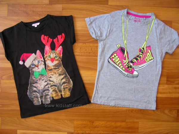 футболки, майки, туники на 6-9 лет в отличном состоянии ч 1