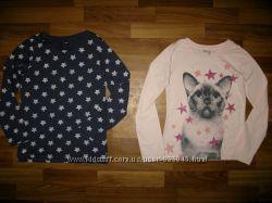свитера, платья, регланы и футболки девочке на 6-9 лет  ч 1
