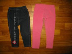 фирменные джинсы, лосины, спортивные штаны девочке на 1-3 года ч 4