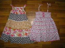 красивые платья, сарафаны на 3-6 лет, часть 2