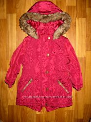 фирменные пальто, парка и шубка на 1-3 года в отличном состоянии