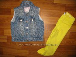 джинсовые пиджаки девочке на 1-3 года