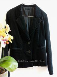 Жакет-блейзер пиджак черный вельветовый от Vero Moda размер L-ка  наш 46