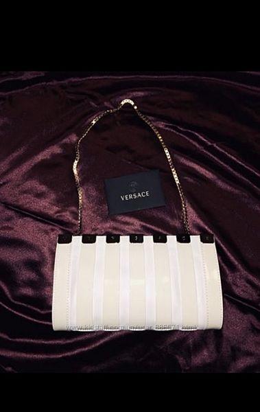 Новая кожаная сумка, клатч Versace. Оригинал