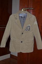 Стильный пиджак H&M на 5-6 лет