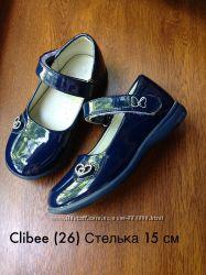 Туфельки Clibee для девочки 15 см