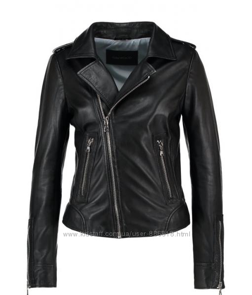 Must have новая. идеальная куртка косуха Oakwood, Франция. 100 кожа чёрная