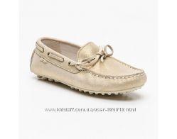 Новые туфли Garvalin, Испания. мерцающее золото