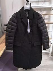 Новое пальто на пуху ADD, Италия куртка пуховик it42
