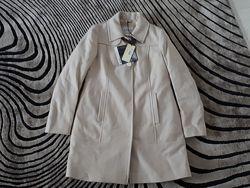 Новое пальто из шерти Geox Respira пудровое