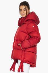 Модная куртка зимняя короткая женская Braggart 43070