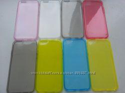 Силиконовый ультратонкий чехол iphone 6 4. 7дюйма глянцевый