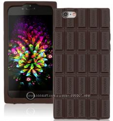 Силиконовый чехол с ароматом шоколада для iphone 4 4S 5 5S 6 6S