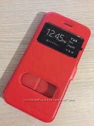 Красный чехол книжечкой Nilkin iPhone 7 8 на магните