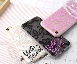 Силиконовые чехол Victoria Secret для IPhone 6 6s 7 7pl 8 8pl