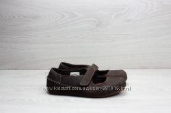 Детские кожаные туфли Timberland оригинал, размер 35