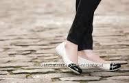 Сrocs cap toe flat стелька 21-22см оригинал крокс новые Балетки