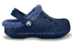 Crocs baya C10-11 оригинал сабо Утепленные стелька 16, 5-17, 5см