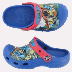 Crocs kids superman C4-5 стелька 12-13, 5см оригинал новые крокс супермен