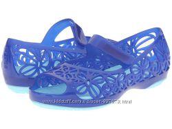 crocs isabella jelly flat kids C11, C12 Оригинал крокс балетки босоножки