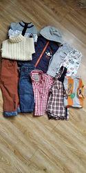 Пакет вещей для мальчика на 1-2 года