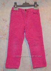 Вельветовые брючки брюки 89-95см Prenatal