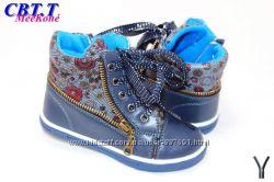 Новые демисезонные ботинки для девочки тм СВТ 26 27 28 29  р-р Meekone