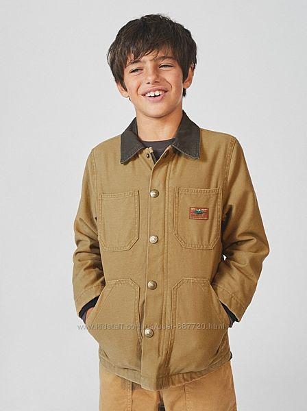 Куртки демисезонные для мальчиков Zara Испания