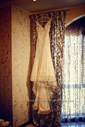 Красивое свадебное платье San Patrick, размер 38