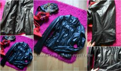 Куртка-косуха из эко-кожи, р-р М.