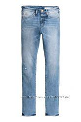 Новые джинсы Н&М 360 Tech Stretch Skinny Jeans р. 3132