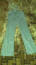 Продам брюки лен, цвет баклажан, размер L
