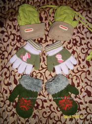 Набор Варежки LC Waikiki, очень теплые варежк и перчатки на малыша