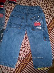 Отличные джинсы Disney тачки  92 размер